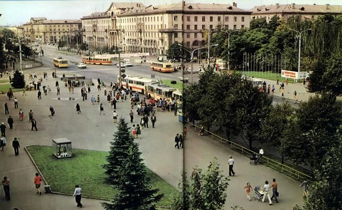 Запорожье в 1978 году Запорожье, СССР, Историческое фото, Длиннопост