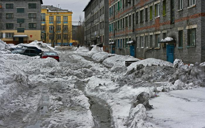 Страшнее бабы зверя нет! ( народная мудрость) Машина, Снег, Сугроб