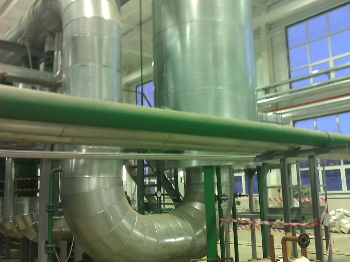 Теплоизоляция трубопроводов ч. 12Ярославль Работа, Теплоизоляция, Металл, Строительство, Котельная, Длиннопост