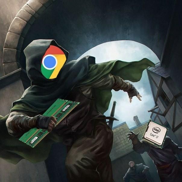 Chrome злодей