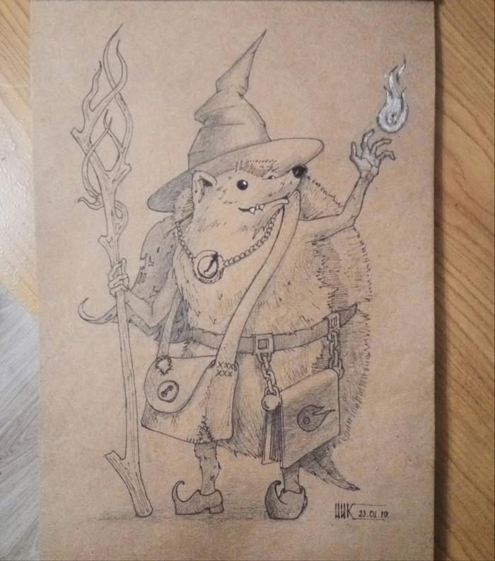 Ёжик волшебник