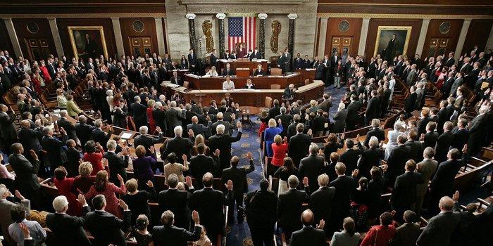 Американские конгрессмены приняли закон, мешающий Трампу выйти из НАТО США, Трамп, НАТО, Политика, Конгресс США