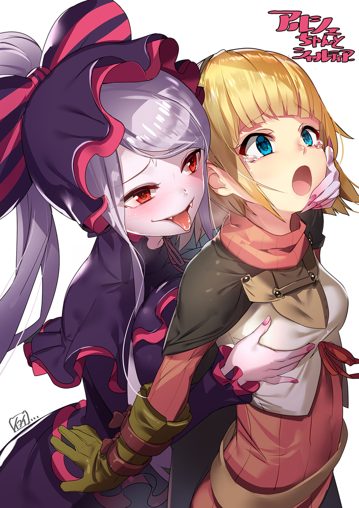 Поймала Anime Art, Overlord, Shalltear Bloodfallen, Аниме, Вампиры