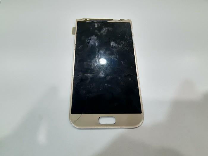 Переклейка. Замена стекла дисплея Samsung A5 2017 (a520f) Замена стекла, Samsung, Длиннопост, Ремонт техники, Ремонт телефона