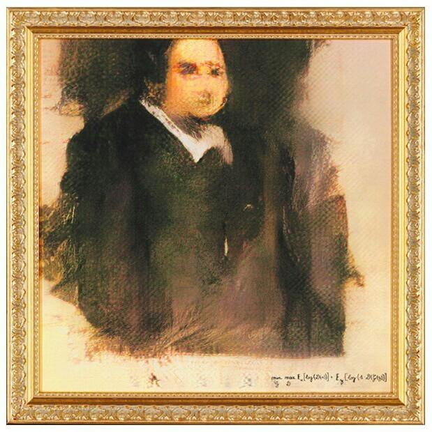 На аукционе продали картину, созданную искусственным интеллектом Нейронные сети, Картина, Аукцион, Алгоритм, Длиннопост