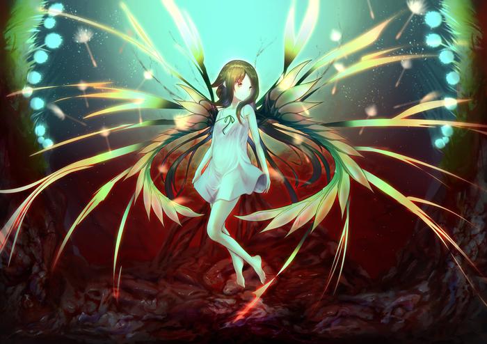 Песнь Сайи Saya No uta, Anime Art, Аниме, Визуальная новелла, Не аниме, Арт