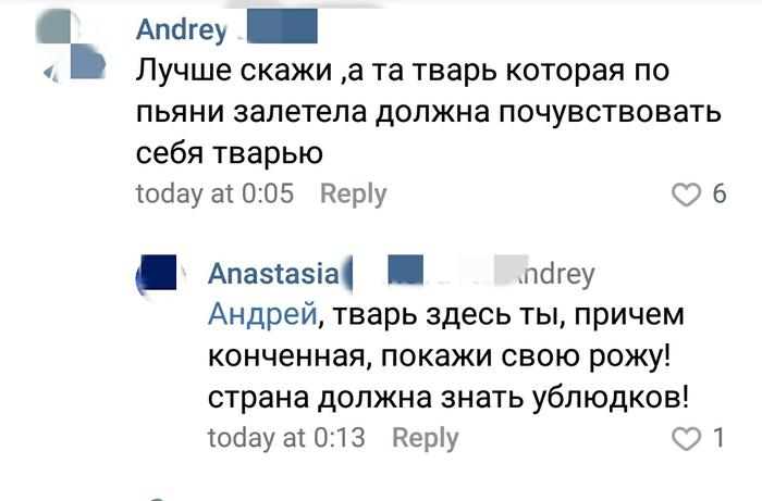 Святая Настя Вконтакте, Комментарии, Длиннопост