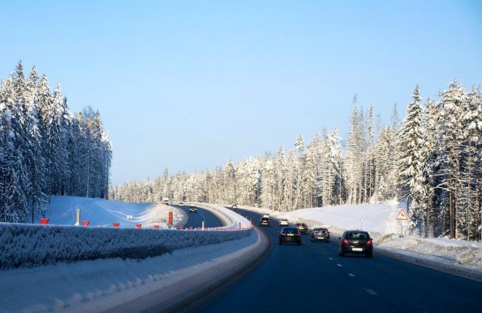 Красавица - зима Зима, Сугроб, Снег, Дорога, Фотография
