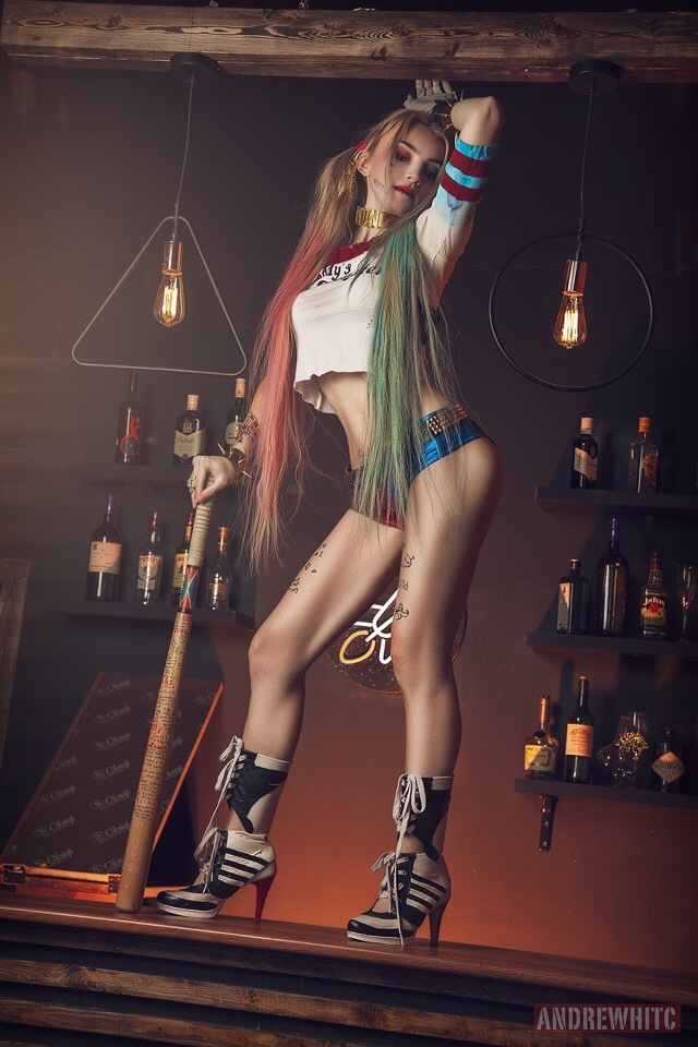 Harley Quinn by Helena Winnowill Косплей, Русский косплей, DC Comics, Харли Квинн, Красивая девушка, Helena Winnowill, Длиннопост
