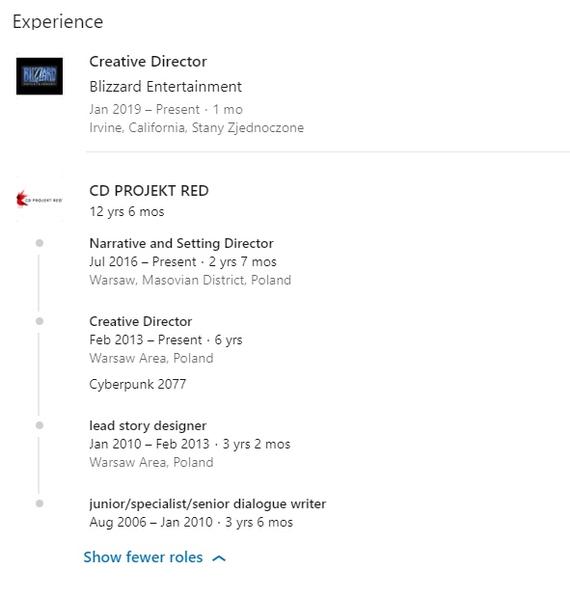 Креативный директор Cyberpunk 2077 перешёл в Blizzard Cd Projekt, Себастьян Стемпьен, Переход в blizzard, Новости, Игры, Cyberpunk 2077, Длиннопост