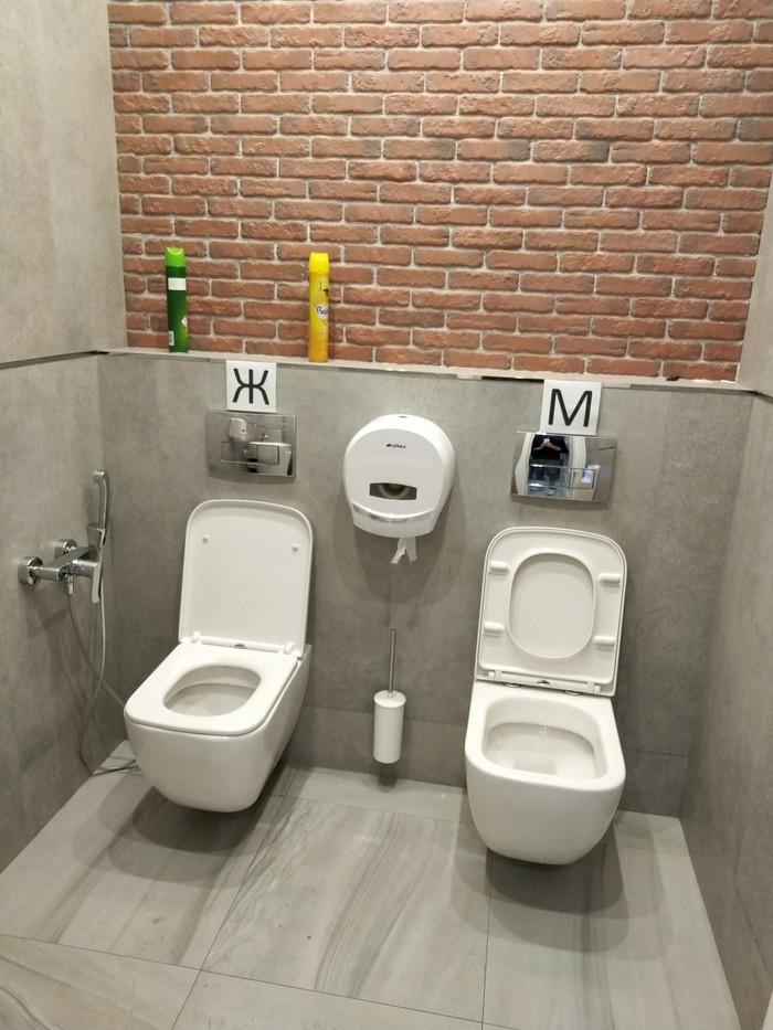 Наверное, коллектив очень дружный. Туалет, Унитаз, Зачем