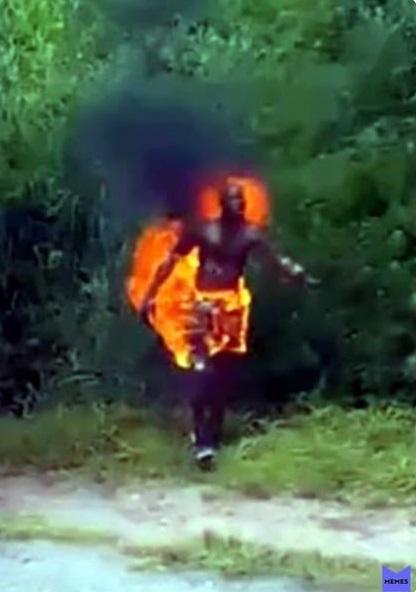 На врунишке, горят штанишки.