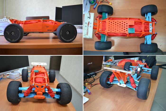 Радиоуправляемая модель при помощи 3Д печати 3D печать, Радиоуправляемые модели, Своими руками, 3D моделирование, Внедорожник, Первый длиннопост, Видео, Длиннопост