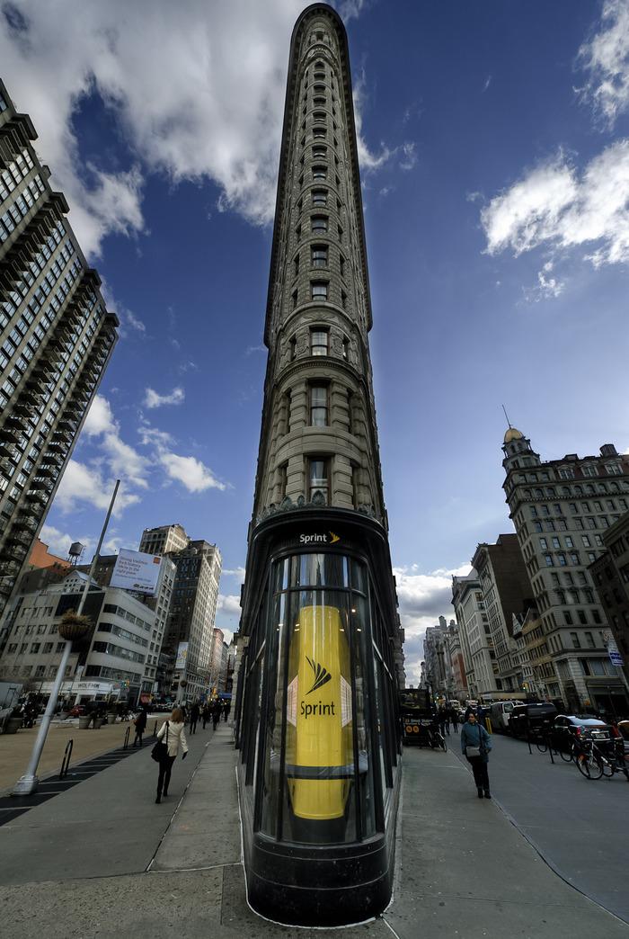 Flatiron Building Flatiron Building, Здание, Фотография, Нью-Йорк, Из сети