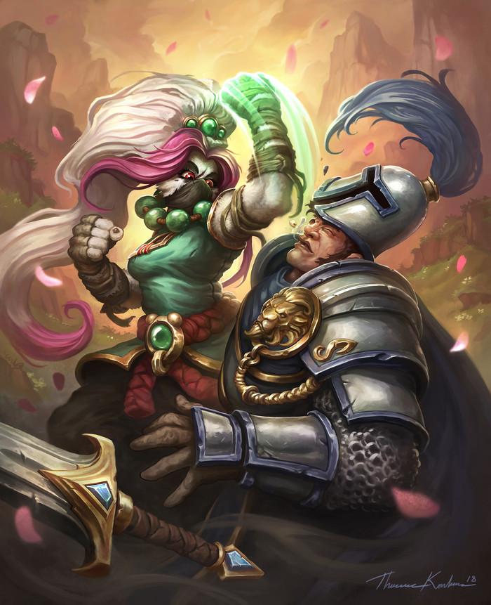 Shao'lien Bitterbrew byThomas Karlsson. WOW, World of Warcraft, Warcraft, Blizzard, Game Art, Арт, Творчество