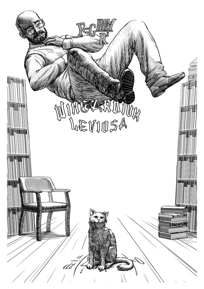 Иллюстрация. Гарри Поттер и методы рационального мышления. Глава 2 Гарри Поттер, Рациональное мышление, Элиезер Юдковский, Иллюстрации, Фан-Арт, Фанфик, Рисунок, Длиннопост, Гпимрм