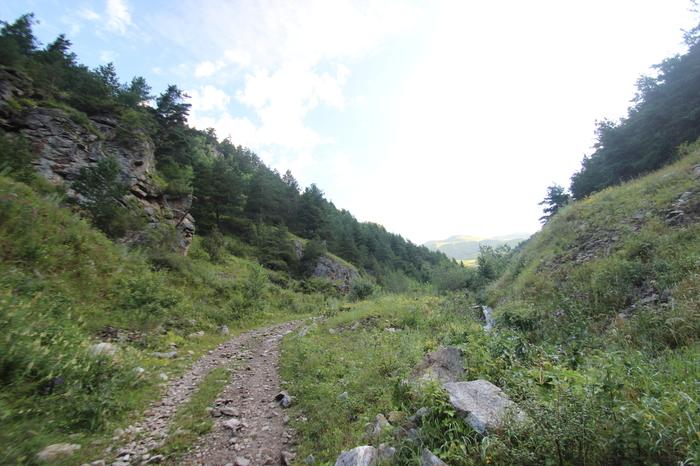 КЧР-трехдневный велопоход и 4 перевала Северный Кавказ, Туризм, Дикий туризм, Эльбрус, Велосипед, Длиннопост