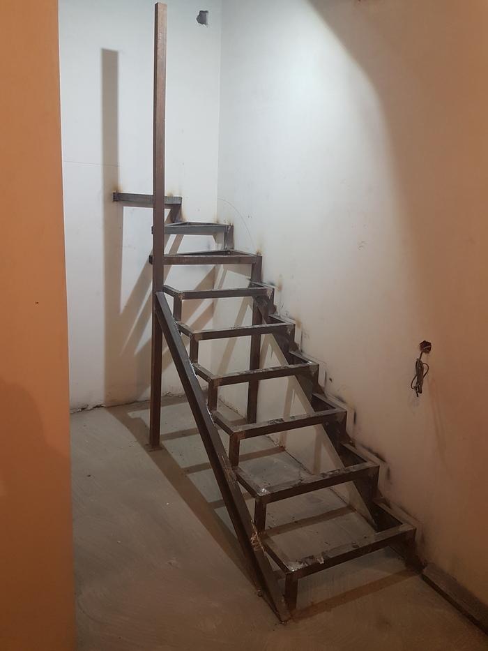 Лестница на второй этаж. Первый опыт Лестница, Своими руками, Первый раз, Длиннопост