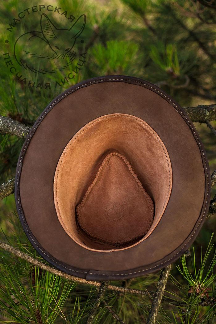 Городская шляпа из нубука, ver 2 Ручная работа, Шляпа, Кожа, Крафт, Своими руками, Длиннопост, Рукоделие без процесса, Стиль