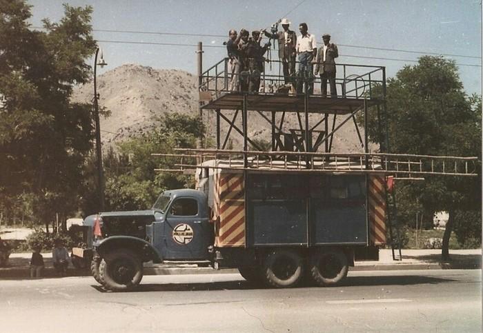 Кабульский троллейбус в 70-е годы Кабул, Афганистан, Транспорт, История в фотографиях, Длиннопост