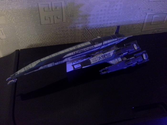 Normandy SR2 Mass Effect, Papercraft, Normandy SR-2