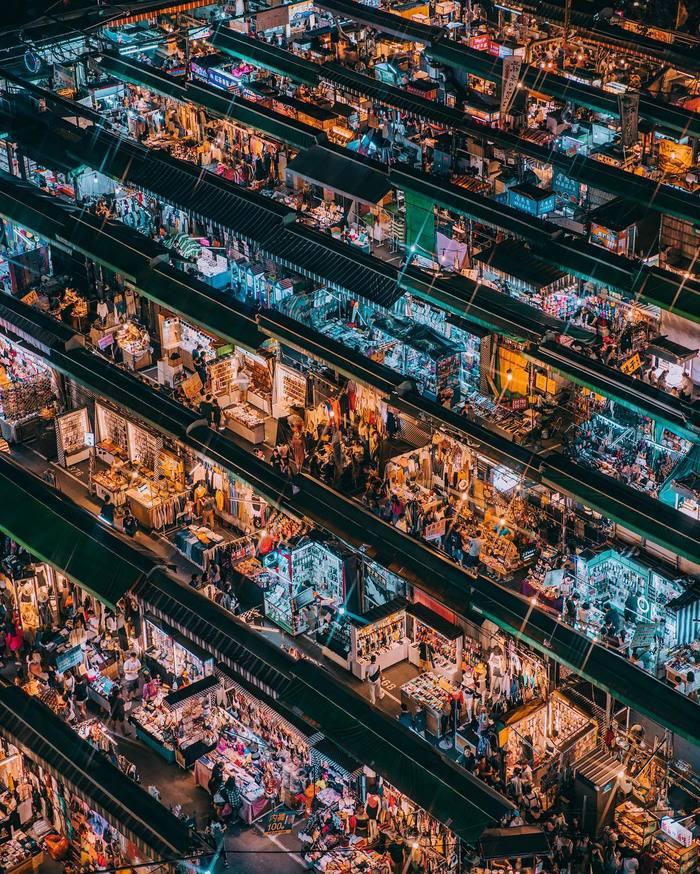 Торговые ряды. Тайвань.