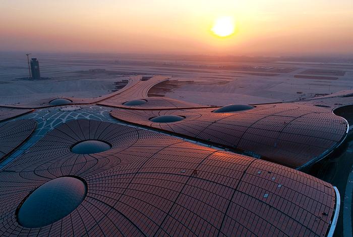 В 2019 году в Китае откроется международный аэропорт Пекин Дасин — новый крупнейший авиаузел мира Китай, Пекин, Дасин, Аэропорт, Дизайн, Длиннопост