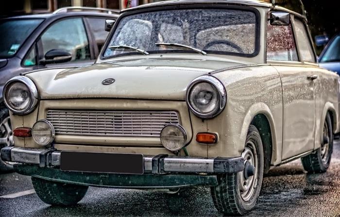 Trabant 601 - народный автомобиль из ГДР Авто, Машина, Ретроавтомобиль, Длиннопост, Гдр