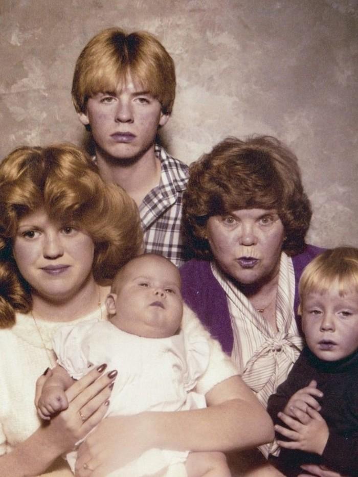 Семейные фото бывают разные. Часть 11 Семейное фото, На память, Длиннопост