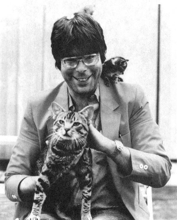 Идея создания одного из самых известных произведений Стивена Кинга. Стивен Кинг, Кот, Кладбище домашних животных, Ужасы