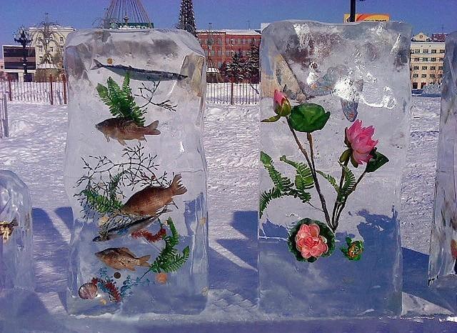 Шедевр из льда