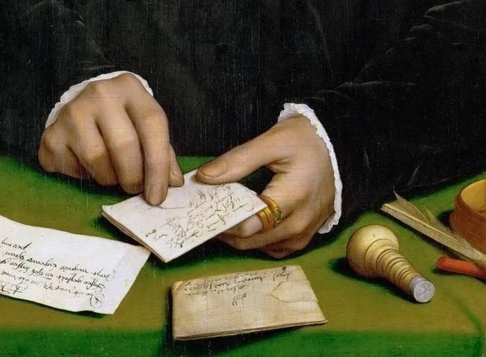 Мужские руки на полотнах Ганса Гольбейна Младшего (1497—1543) Живопись, 16 век, Руки, Длиннопост