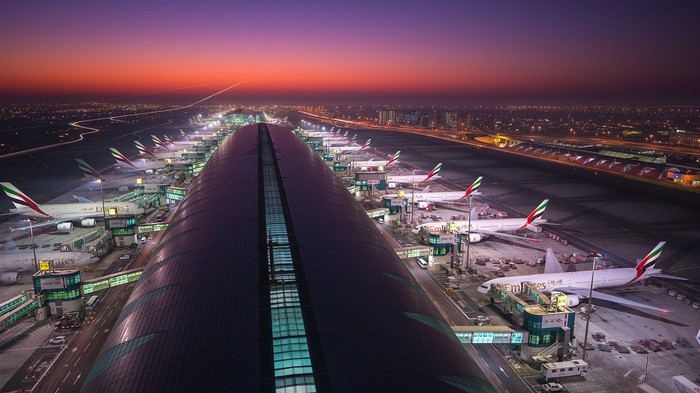 Airport Dubai Аэропорт, Дубай, Преображение