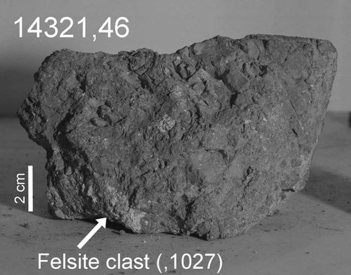 Древнейший камень Земли найден на Луне Земля, Луна, Космос, Апполон, Камень