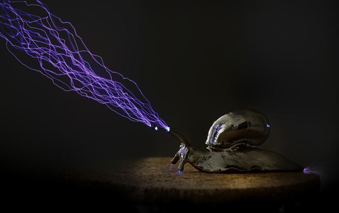Улитка из ИКЕА Эксперимент, Фотография, Электрический разряд, Молния, Улитка, ИКЕА