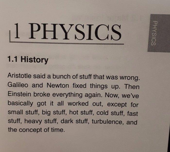Физика Физика, Аристотель, Галилео, Ньютон, Квантовая физика, Теория относительности, Учебник, Альберт Эйнштейн