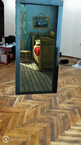 Портал в спальню Ван Гога