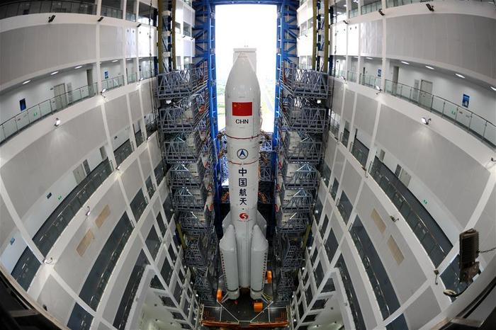 """В Китае третий пуск ракеты-носителя """"Чанчжэн-5"""" запланировали на июль Китай, Чанчжэн-5, Чанъэ-4, Ракета-Носитель, Луна, Запуск, Техника, Космос"""