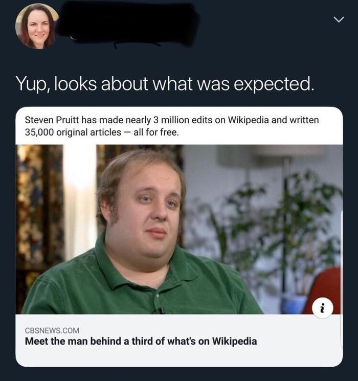 Человек Википедия Википедия, Зачем, Twitter, Скриншот