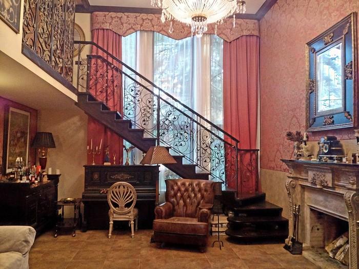 Лестница в каком то стиле Алексей Рыбников, Лестница, Италия, Старина, Дизайн, Длиннопост