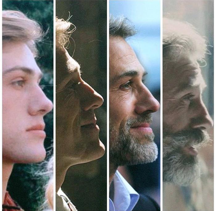 Эволюция Кристофа Вальца Кристоф Вальц, Актеры, Эволюция, Борода, Время