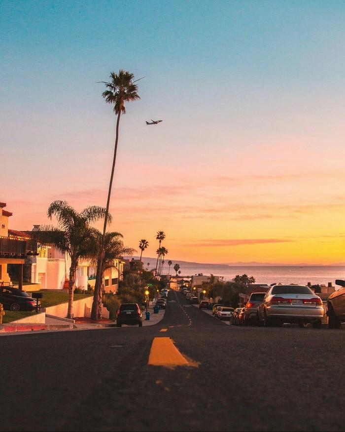Прекрасный Лос-Анджелес Лос-Анджелес, Америка, США, Фотография, Красота, Улица, Калифорния, Длиннопост