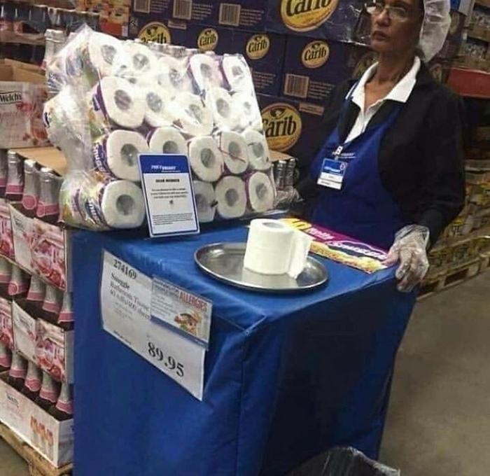 Попробуйте наш товар Туалетная бумага, Картинки, Профессия, Супермаркет, Дегустация