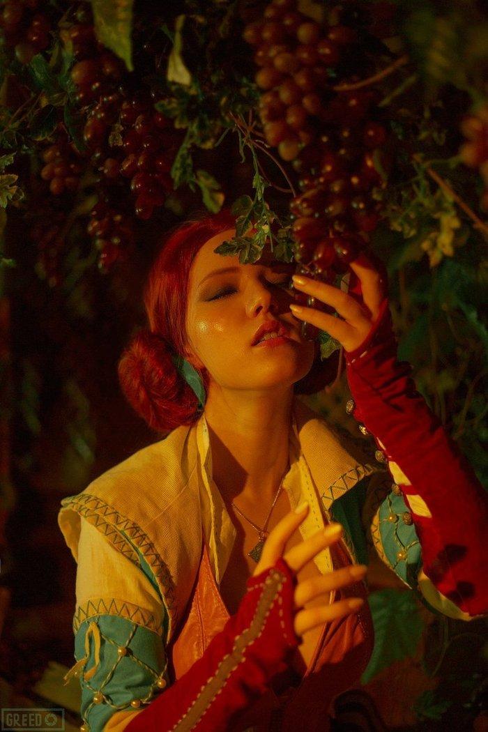 EroCosplay Triss Merigold ( The Witcher) [Lyumos] Трисс Меригольд, The Witcher 3:Wild Hunt, Лада Люмос, Lyumos, Эротика, Сиськи, Косплей, Длиннопост, Ведьмак