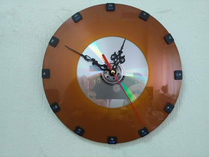 Часы из IT-хлама Часы, Handmade, IT, Своими руками