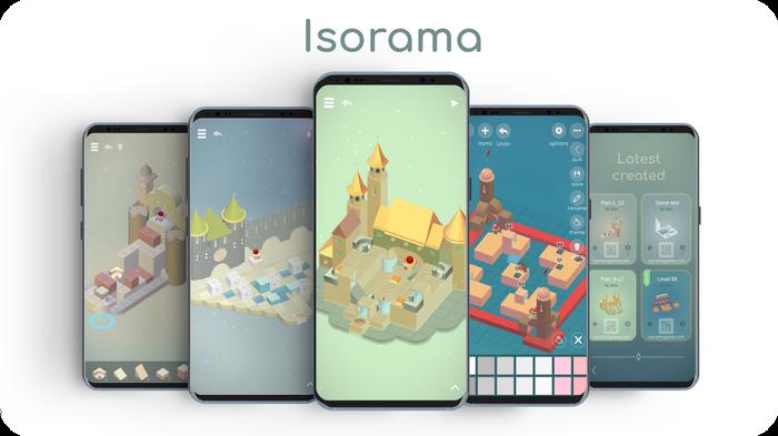 Isorama - атмосферная инди головоломка с возможностью создавать уровни, и делиться ими Gamedev, Indie, Игры, Мобильные игры, Разработка, Длиннопост, Видео, Unity
