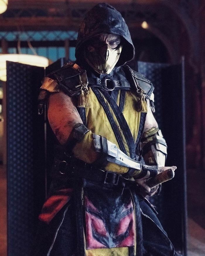 Scorpion by Maul Косплей, Mortal Kombat, Скорпион, Maul, Maul Cosplay, Длиннопост