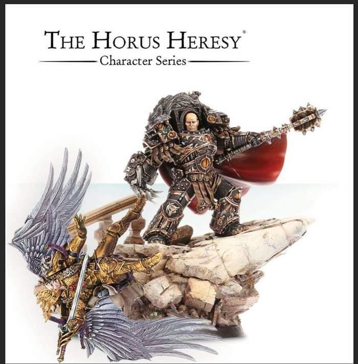 Хорошая миниатюра, и поза интересная... Warhammer 30k, Forge World, Sanguinius, Blood Angels, Wh miniatures, Wh humor, Длиннопост