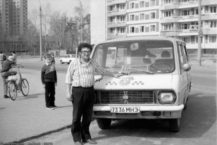 Советская маршрутка: старый, добрый Рафик. Авто, Машина, Автобус, Такси, Раф, Рафик, Длиннопост