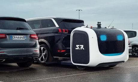 Роботы S.R. для парковки автомобилей-уже... Авто, Роботы наступают, Foodобзор, Поедательобразцов, Видео